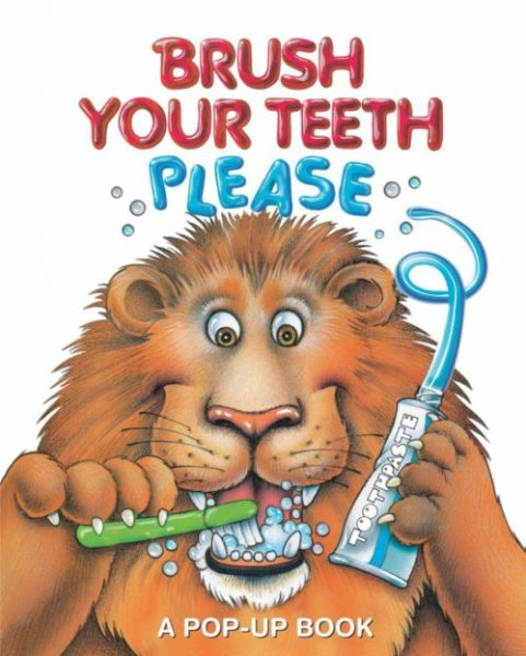 5 Great Books to Teach Toddlers about Brushing their Teeth